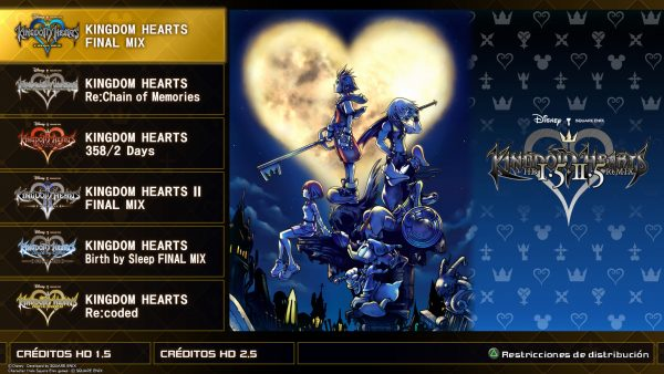 Kingdom Hearts 1 5 2 5 Remix Strike Gamesstrike Games